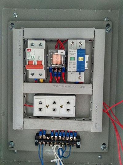 tủ điện cân xe tải điện tử
