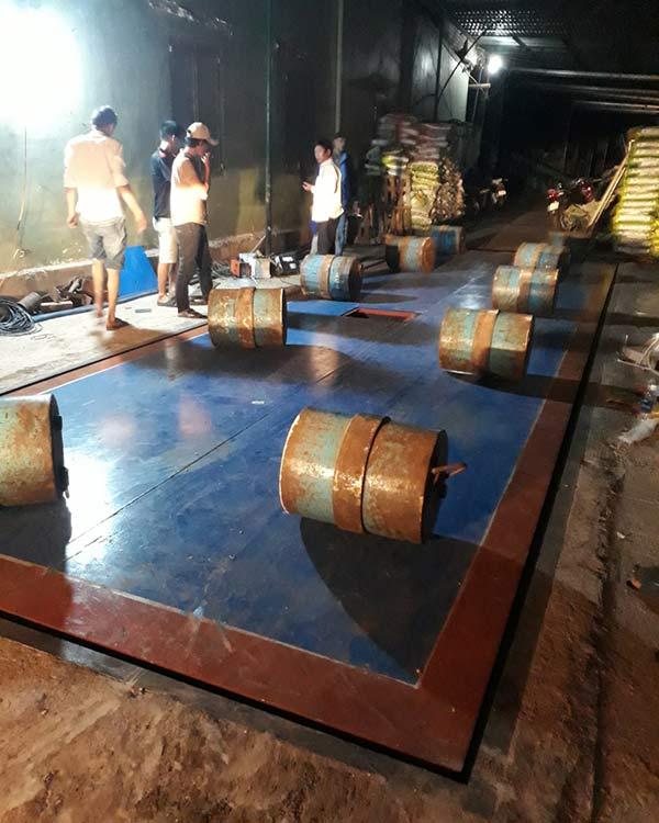 Cân điện tử 80 tấn