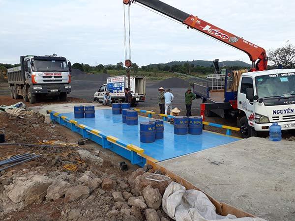 Cung cấp sữa chữa trạm cân xe tải điện tử 60 tấn