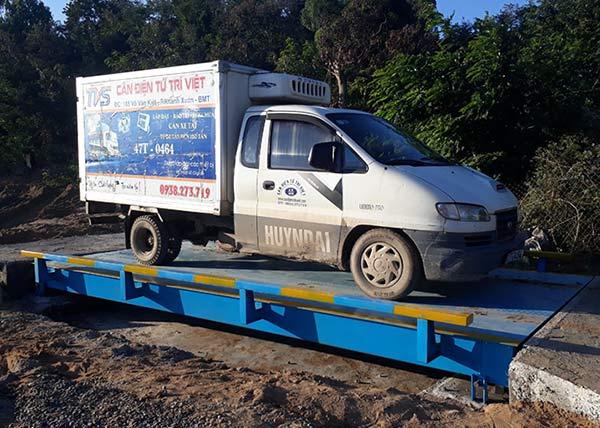 Cung cấp, sữa chữa cân xe tải điện tử 40 tấn
