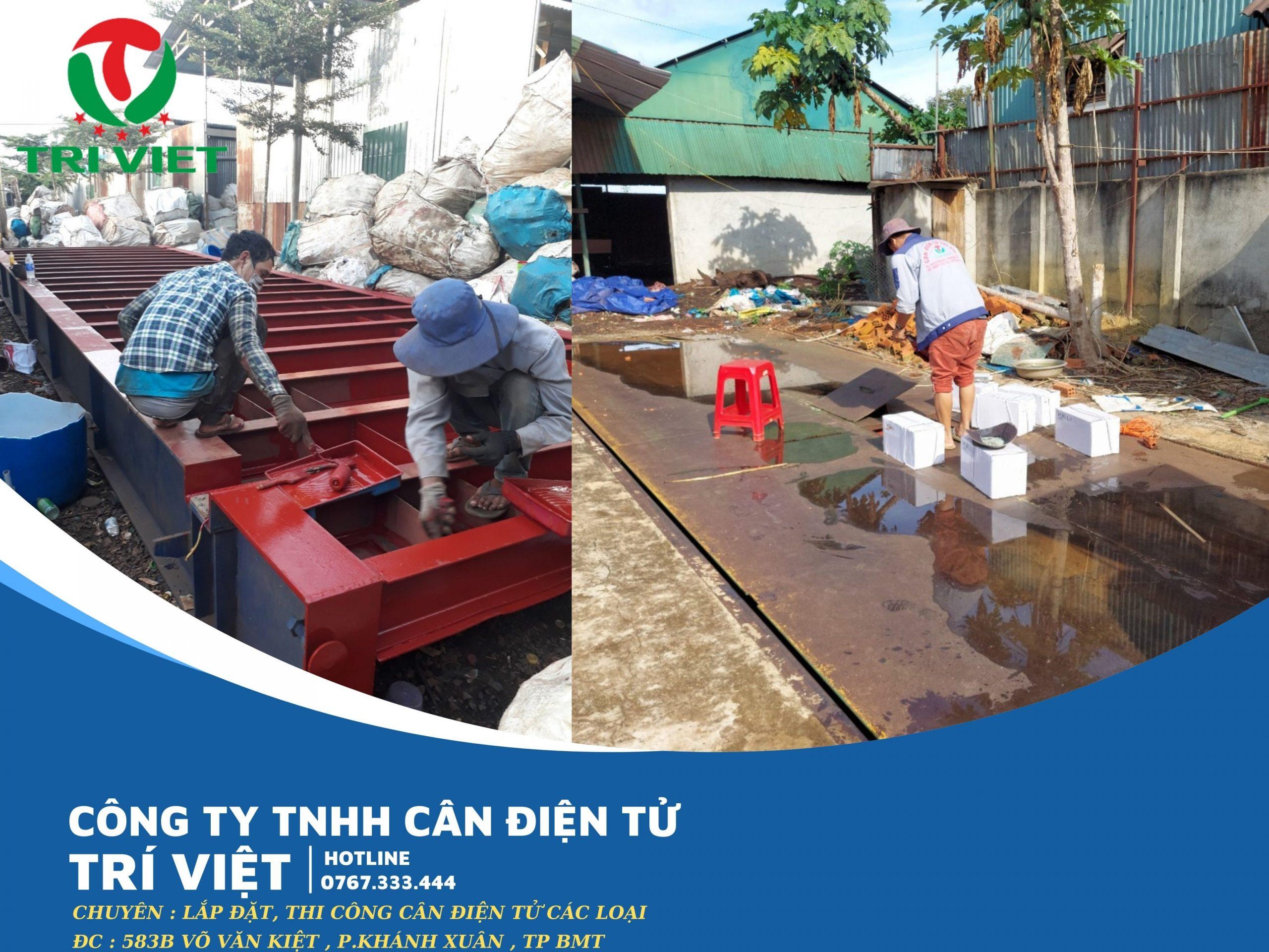 Công ty TNHH cân điện tử Trí Việt chuyên cung cấp các loại cân điện tử. Ngoài ra chúng tôi còn nhận sửa chữa cân điện tử các loại ở khu vực Đăk Lăk, Đăk Nông, Gia Lai, Kon Tum, Phú Yên, Bình Phước