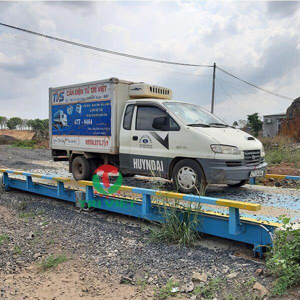 Tư vấn lắp đặt trạm cân xe tải, ô tô điện tử khu vực Tây Nguyên